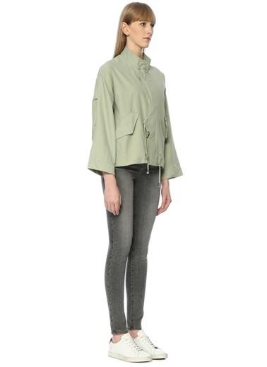 Cubic Ceket Yeşil